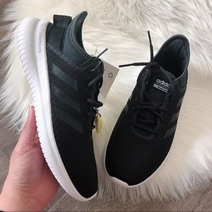 New Adidas Women's QT Flex Shoes Black